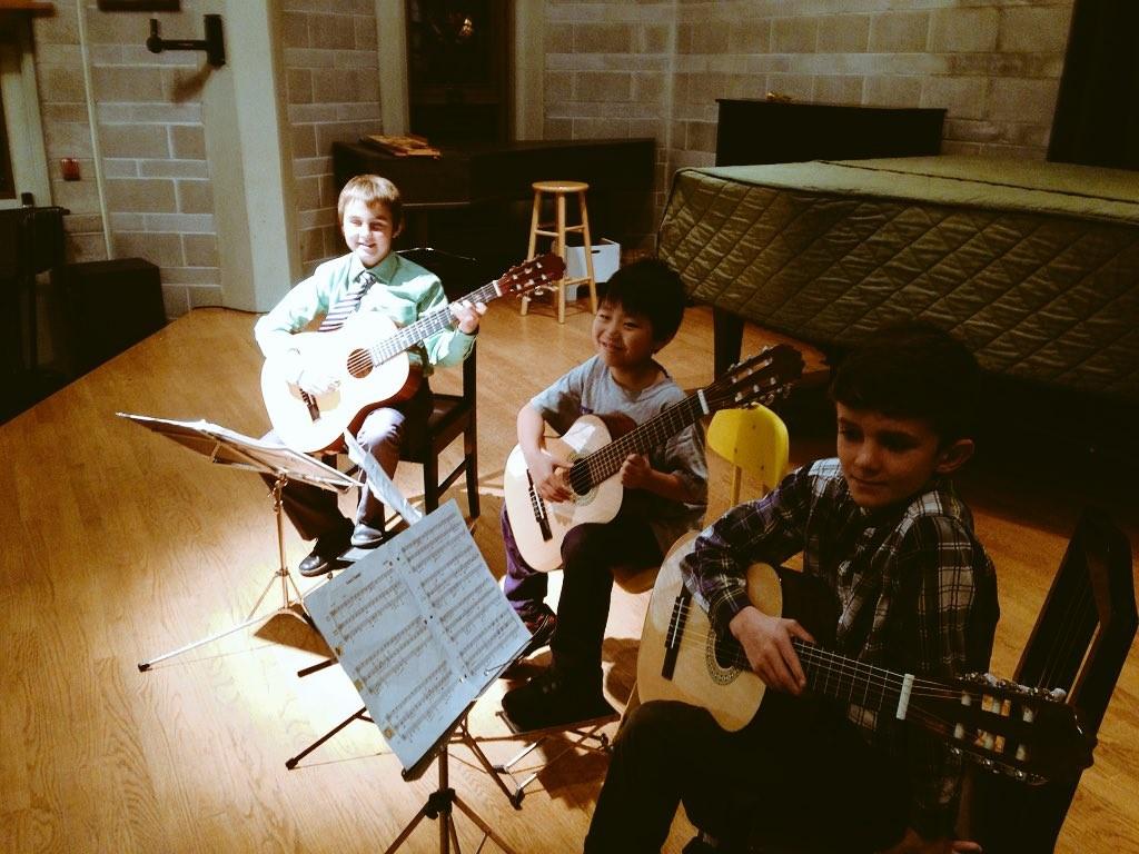 Youth Guitar Trio in Victoria