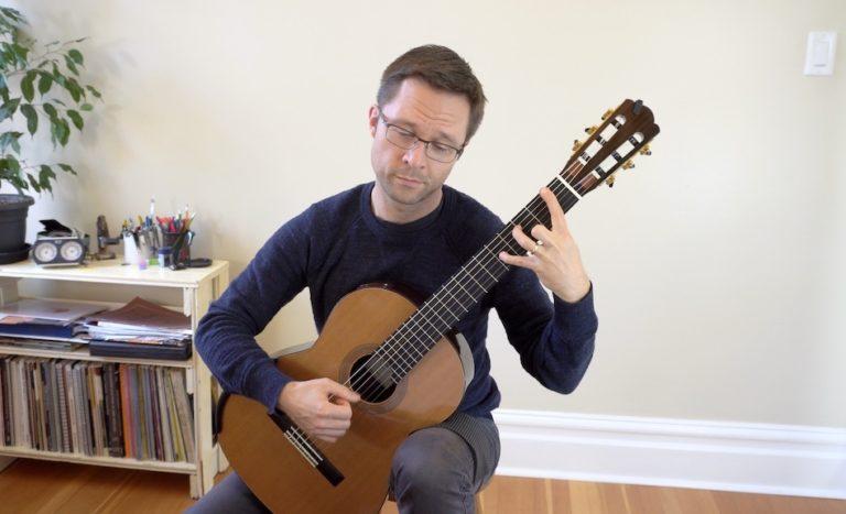 Bradford Werner Plays Weiss Sonata IX