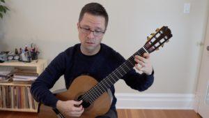 Bradford Werner Plays Passacaille by Robert de Visée