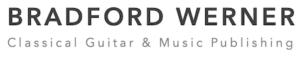 Bradford Werner - Classical Guitarb